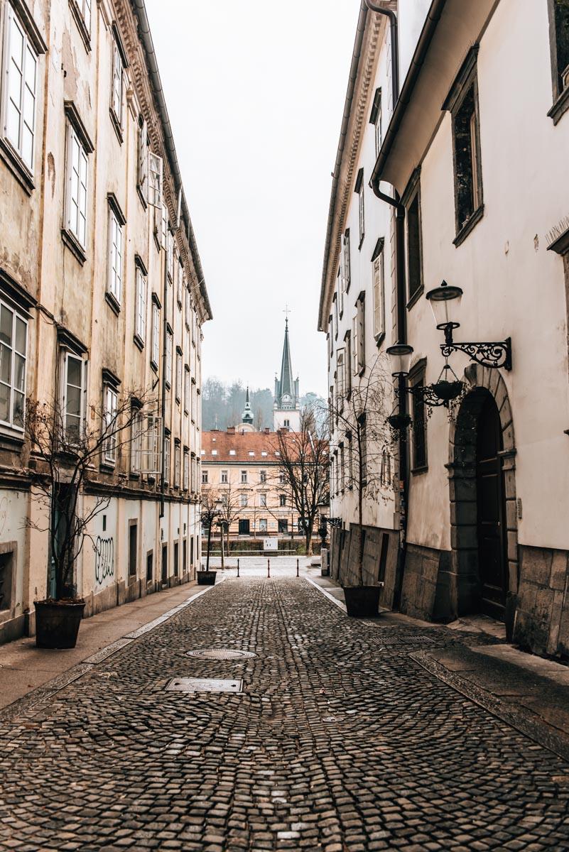 Städtereise Laibach