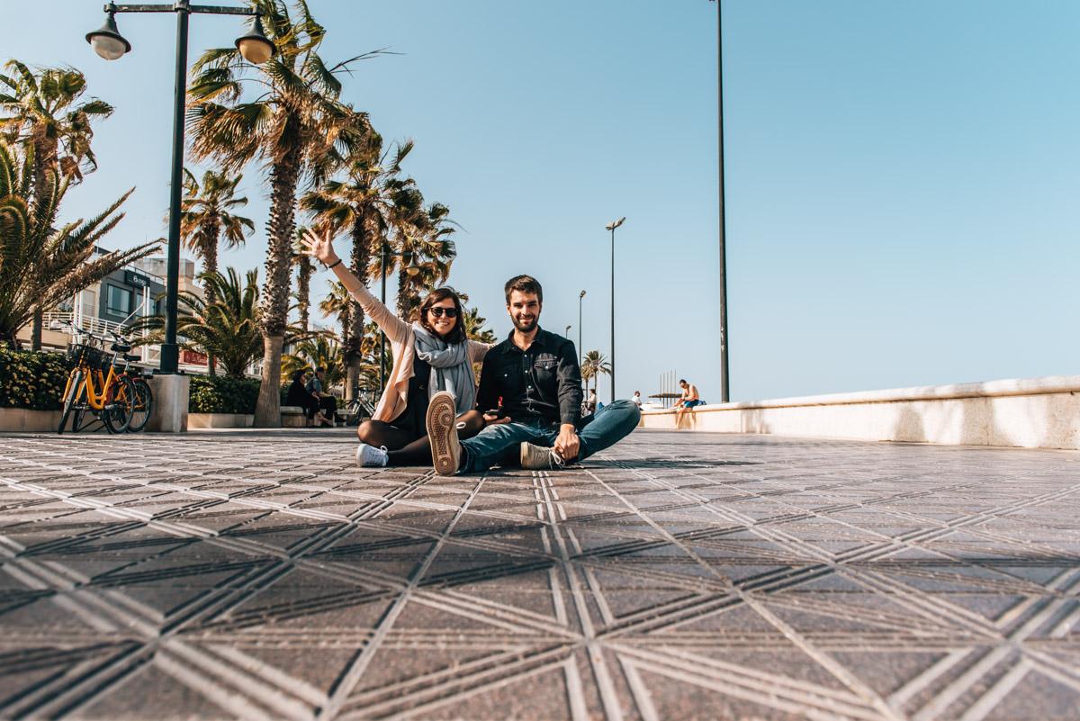 Strandpromenade Valencia