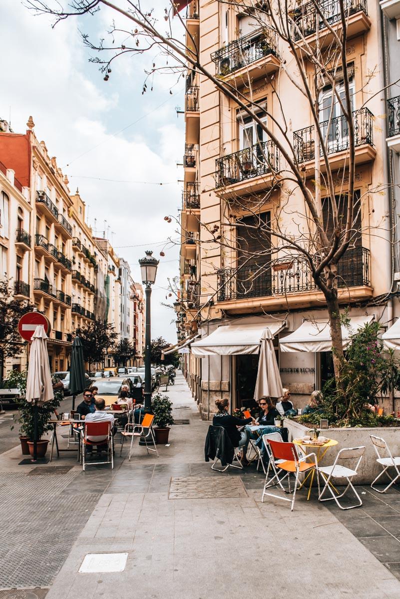 Valencia Kaffeehaus Tipps