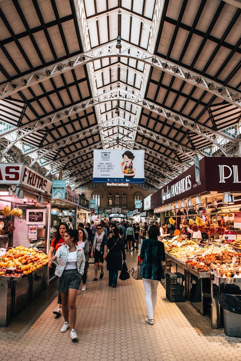 Valencia traditioneller Markt