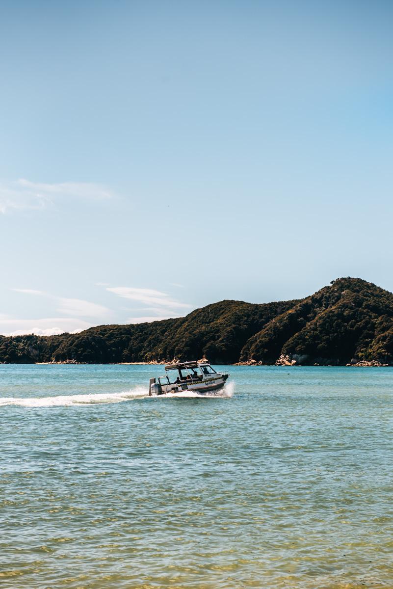 Wassertaxi Abel Tasman