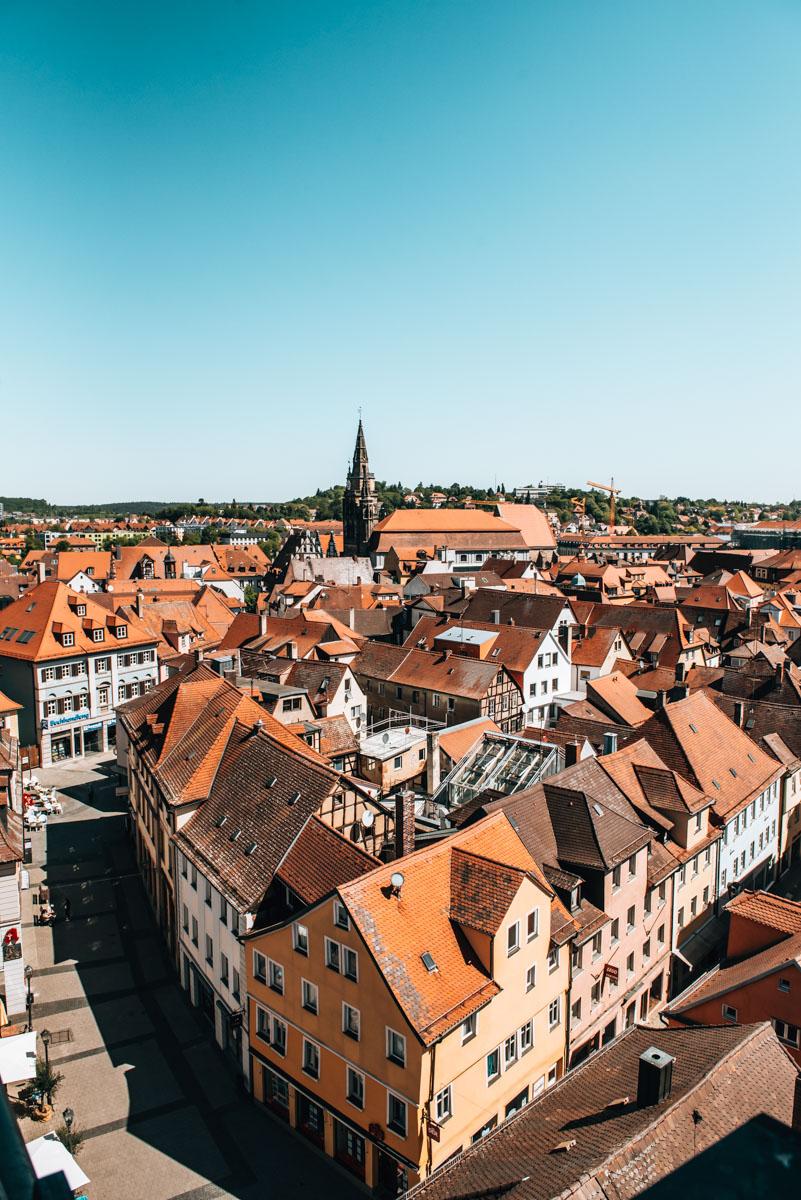 Ausblick Ansbach