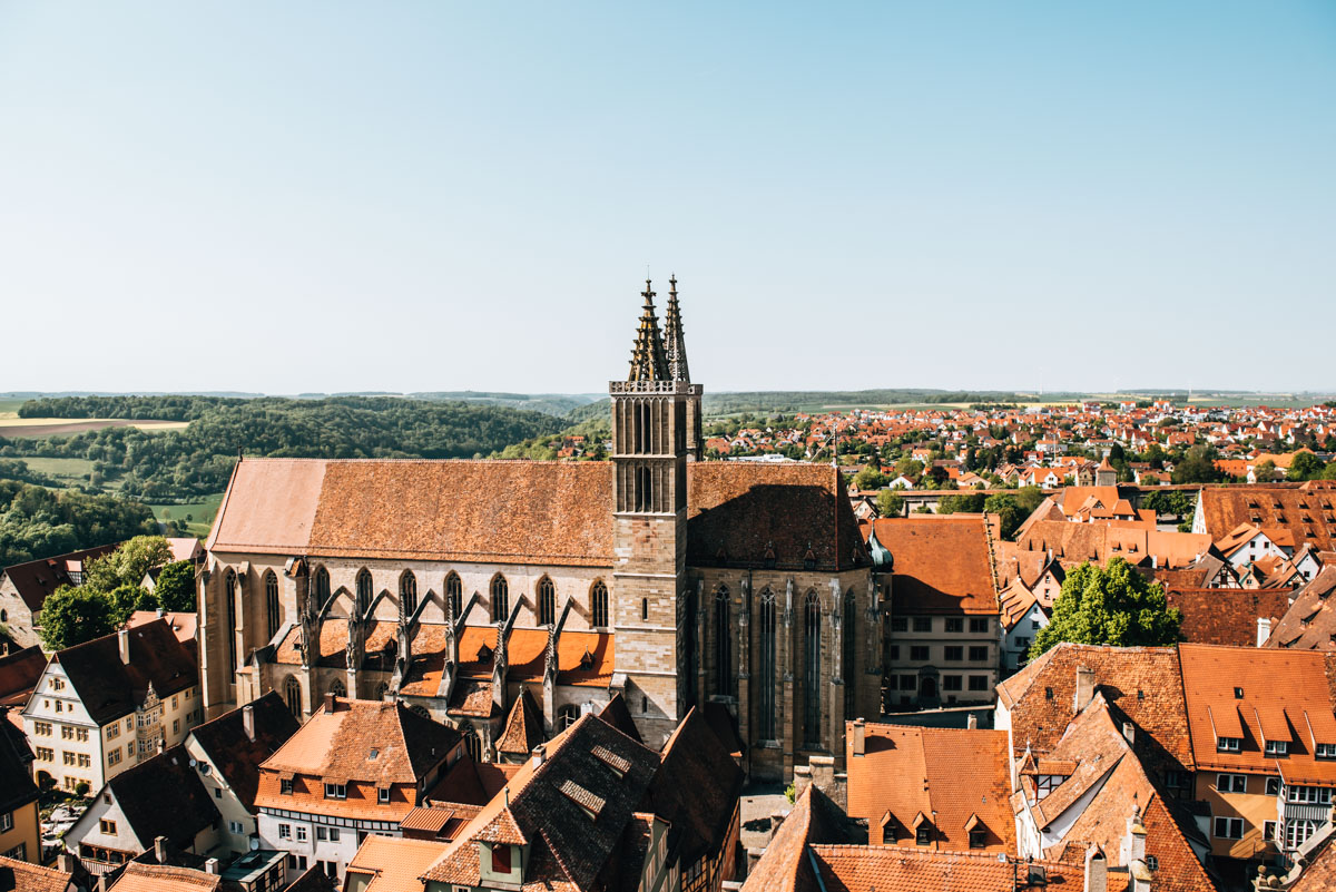 View Rothenburg ob der Tauber