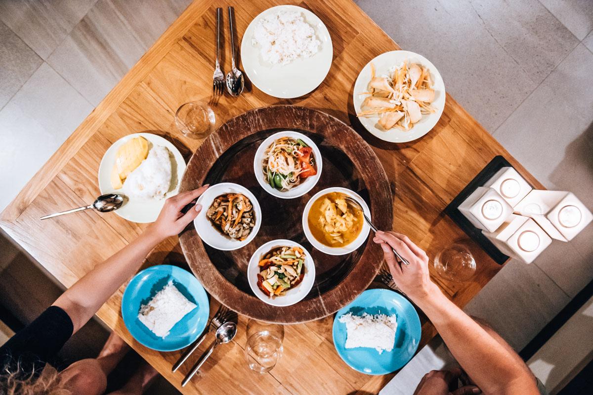 Essen bestellen Koh Lanta