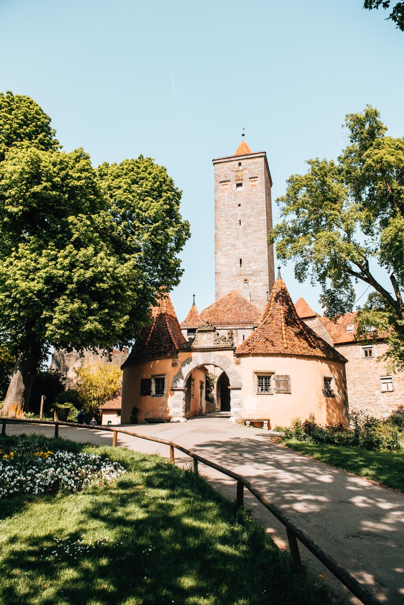 Rothenburg ob der Tauber Picknick