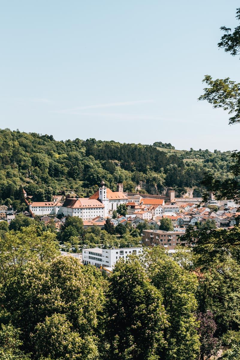 Willibaldsburg Ausblick
