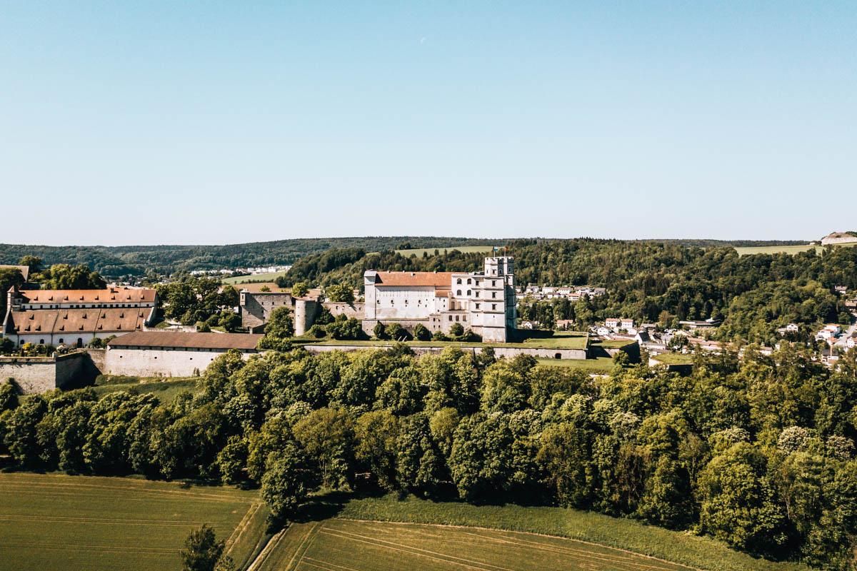 Willibaldsburg Drohne