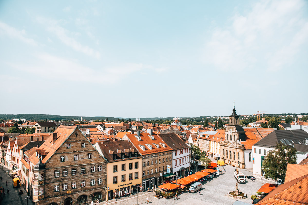 Karstadt Bayreuth Ausblick