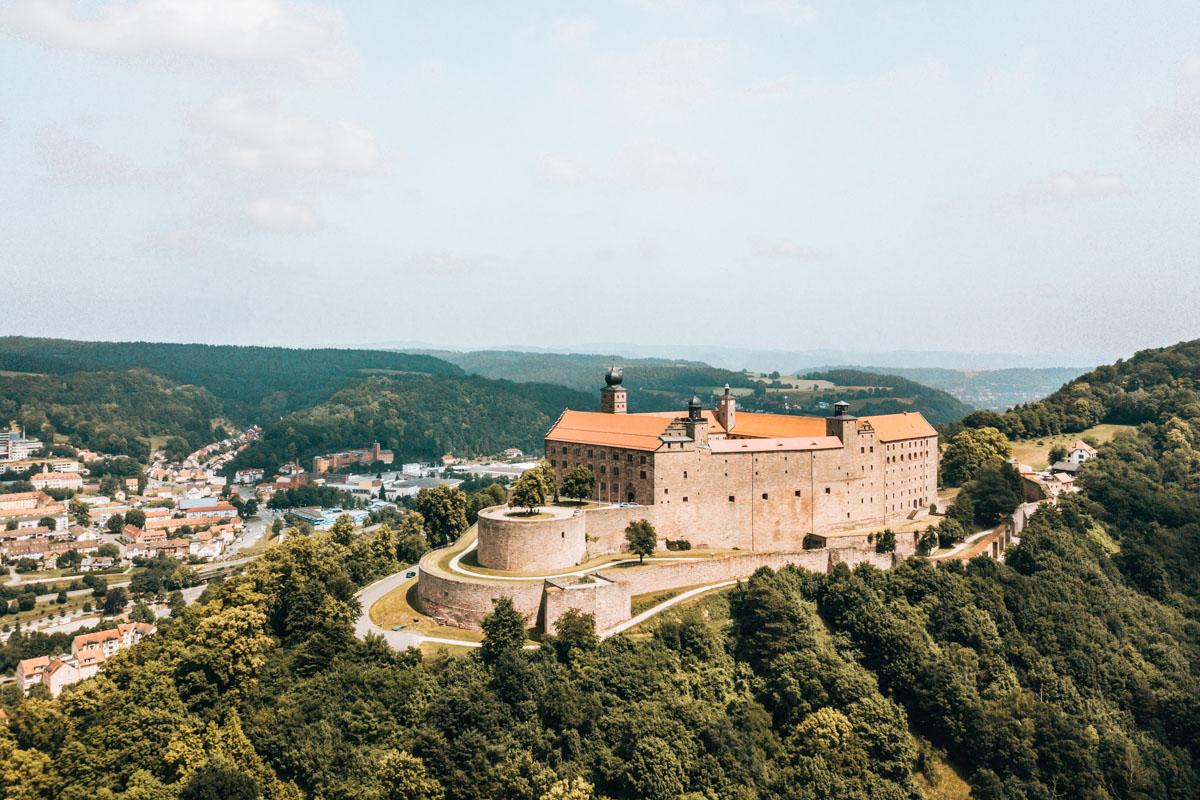 Plassenburg Drohne