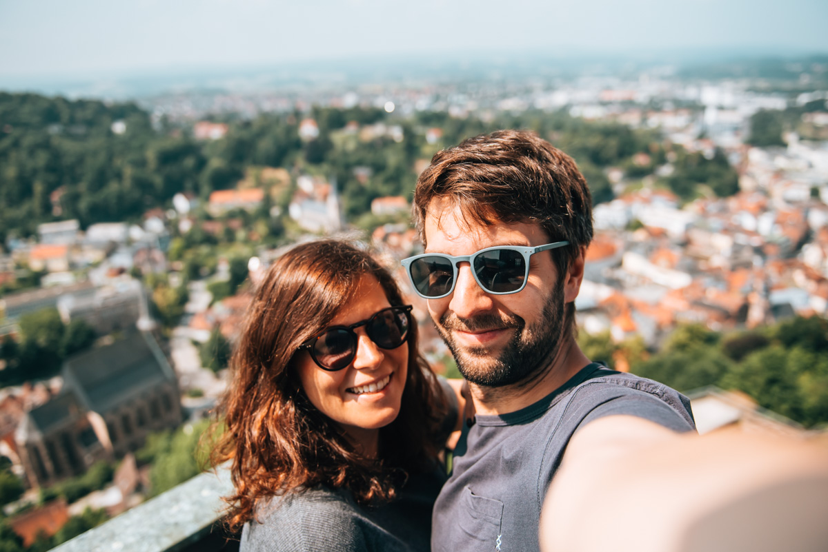 Plassenburg Turm Aussicht