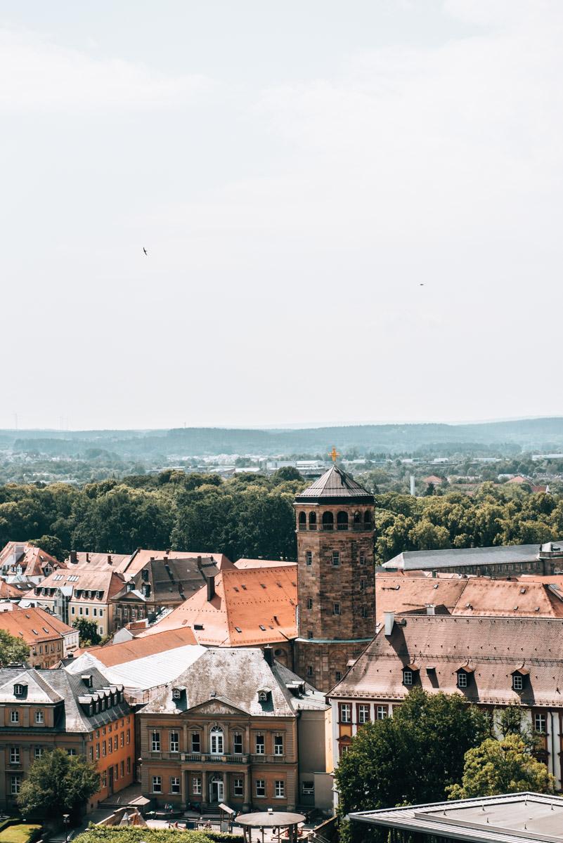 Rathaus Bayreuth Aussicht