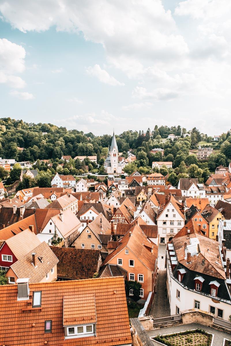 Roter Turm Kulmbach Aussicht