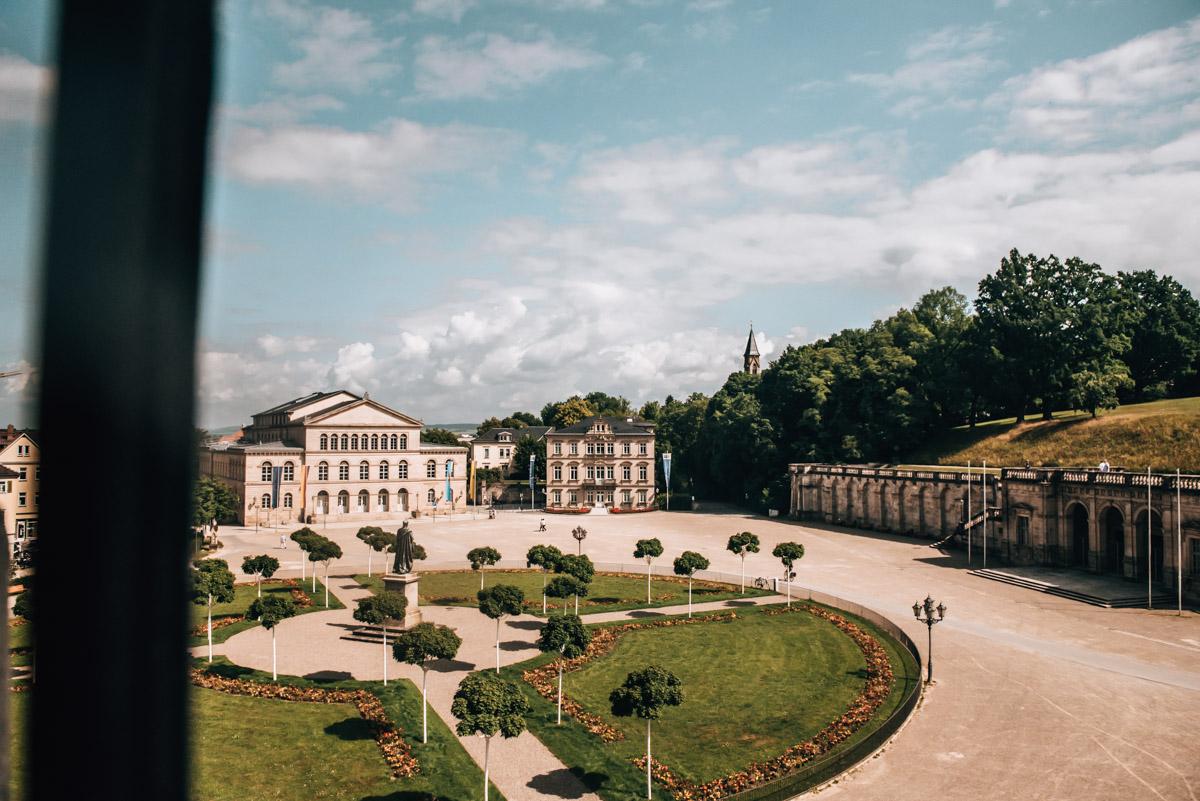 Schloss Ehrenburg Aussicht