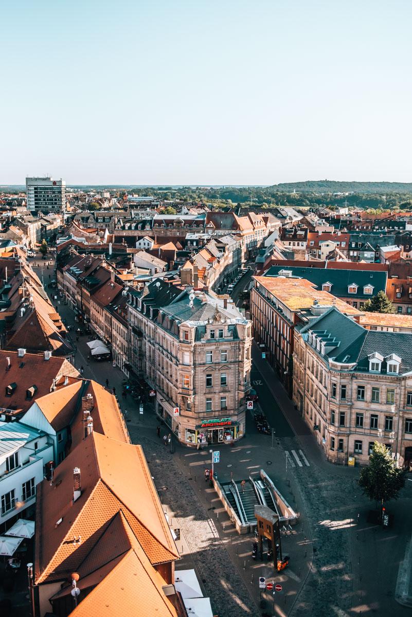 Fürth Rathaus Ausblick