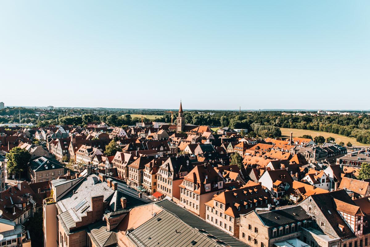 Fürth Rathausturm Aussicht