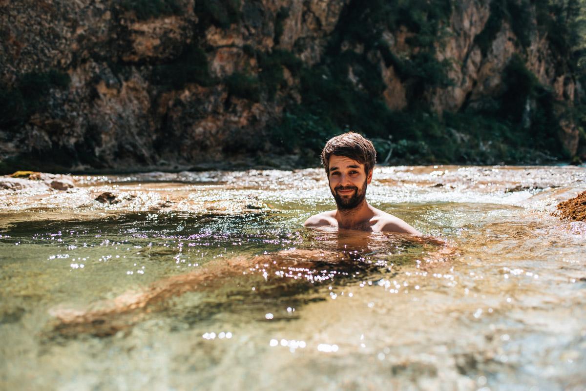 Ötschergräben Schwimmen