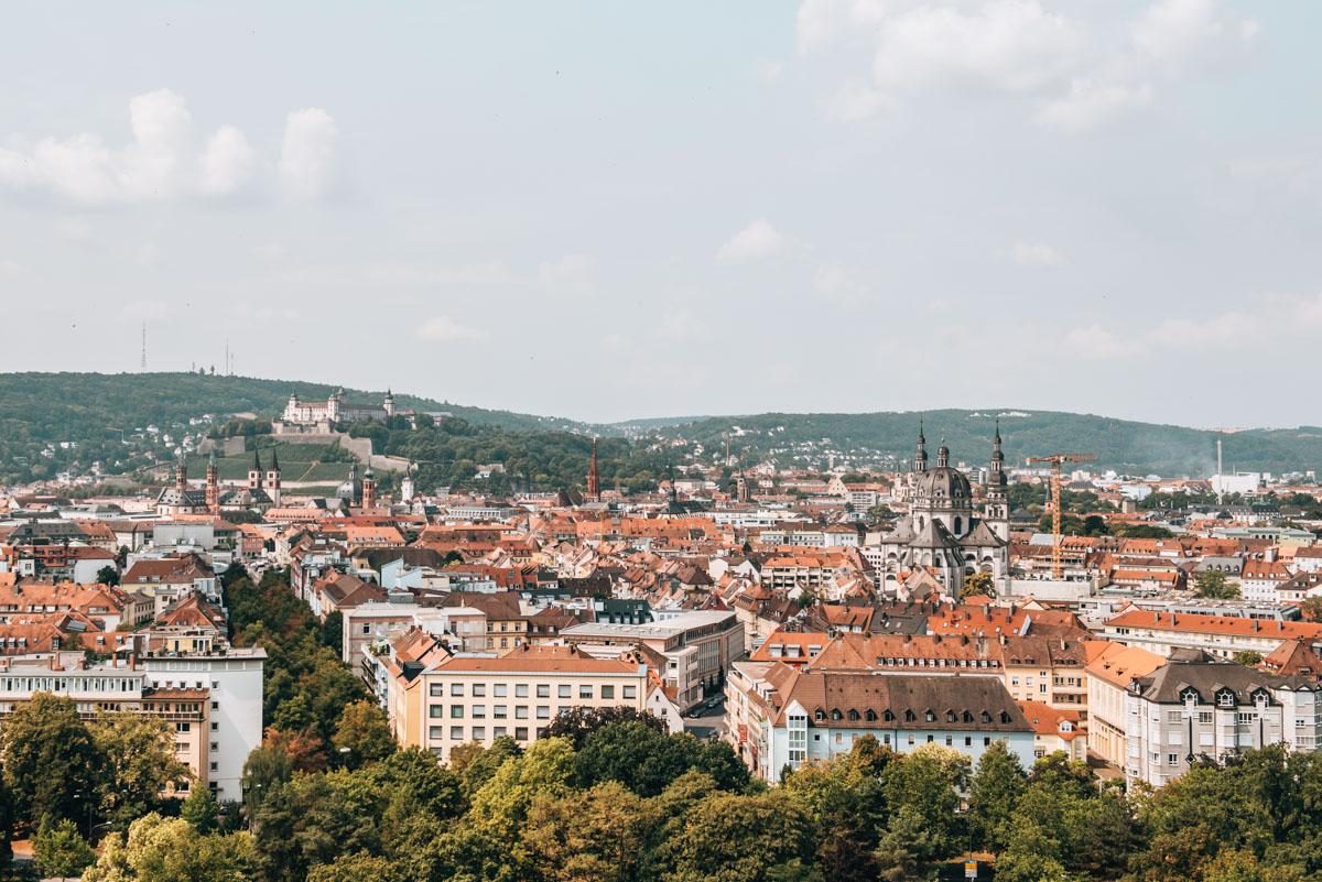 Aussicht Würzburg