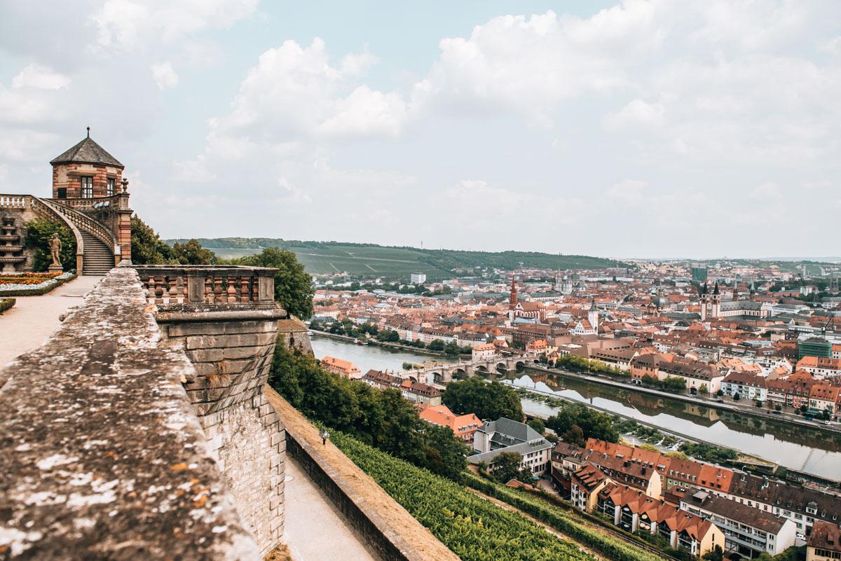 Festung Marienberg Ausblick