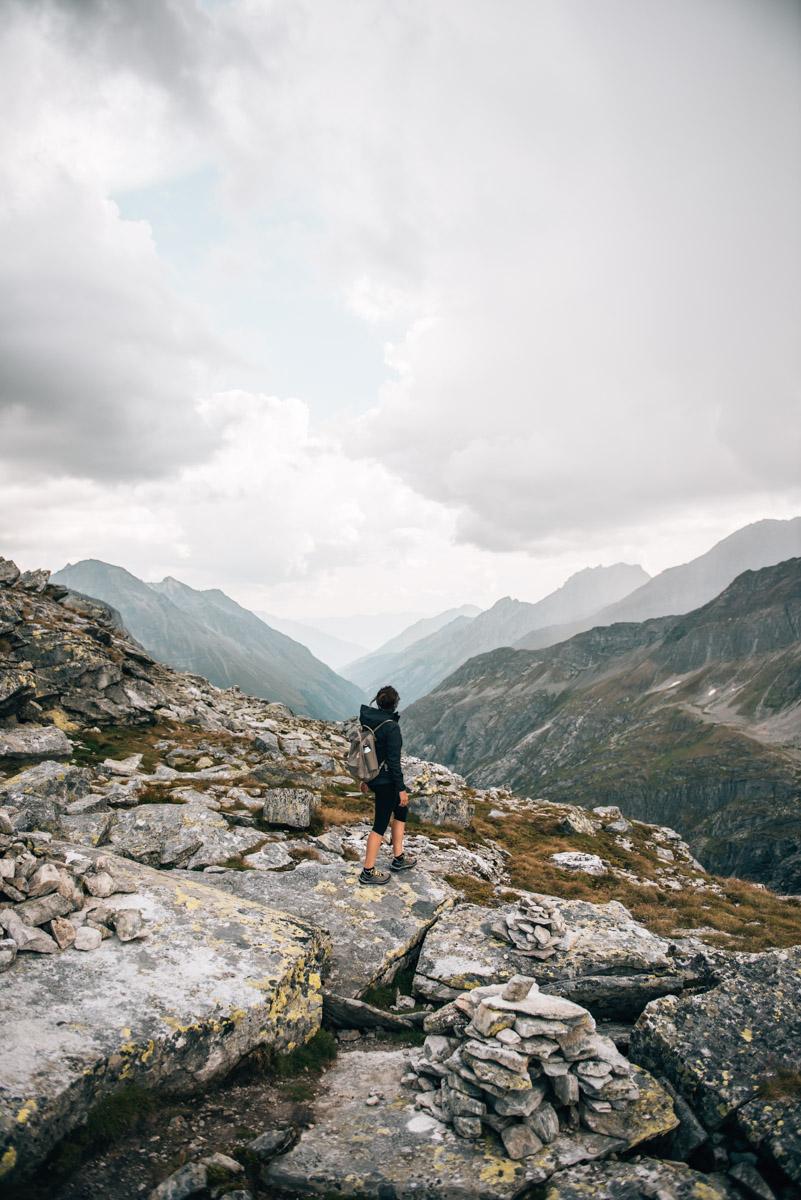 Medelzkopf Gipfel