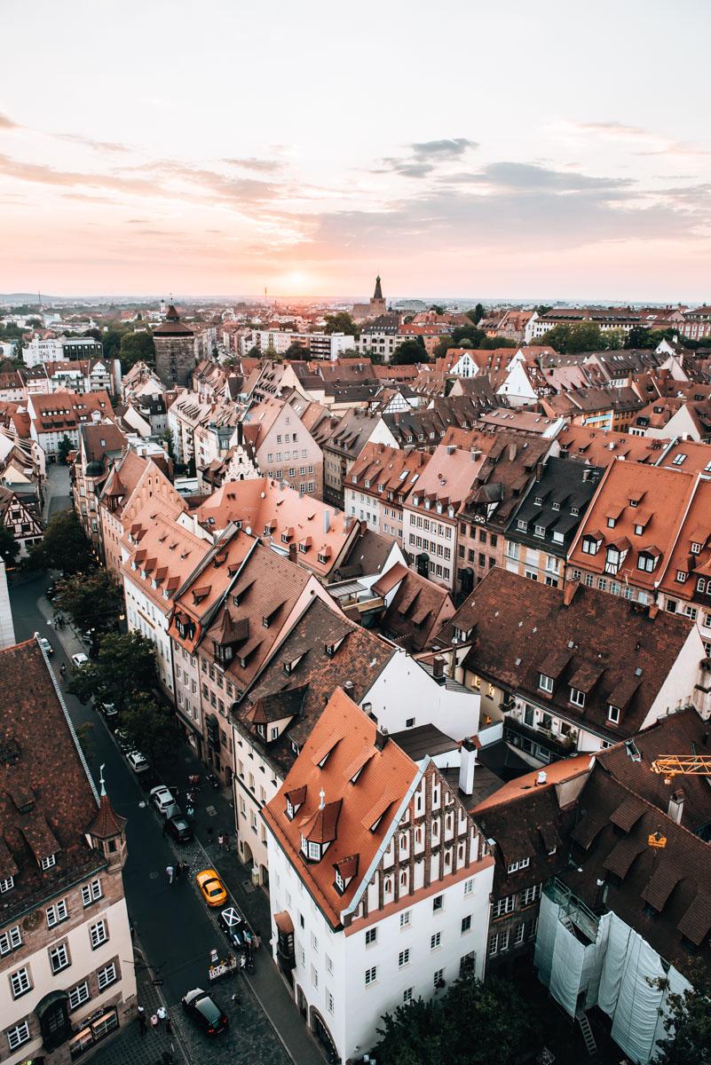 Nürnberg Ausblick