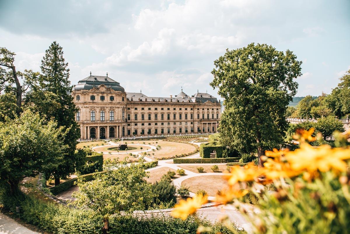 Residenz Garten Würzburg