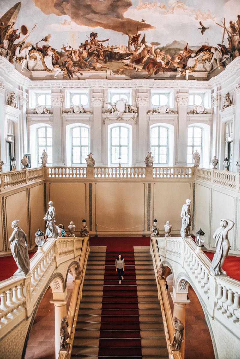 Residenz Würzburg Stiege