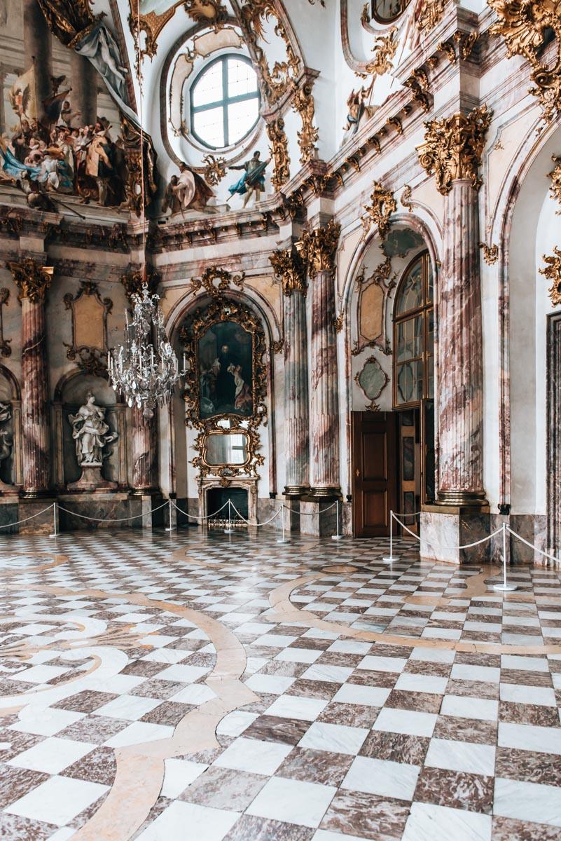 Residenz Würzburg großer Saal