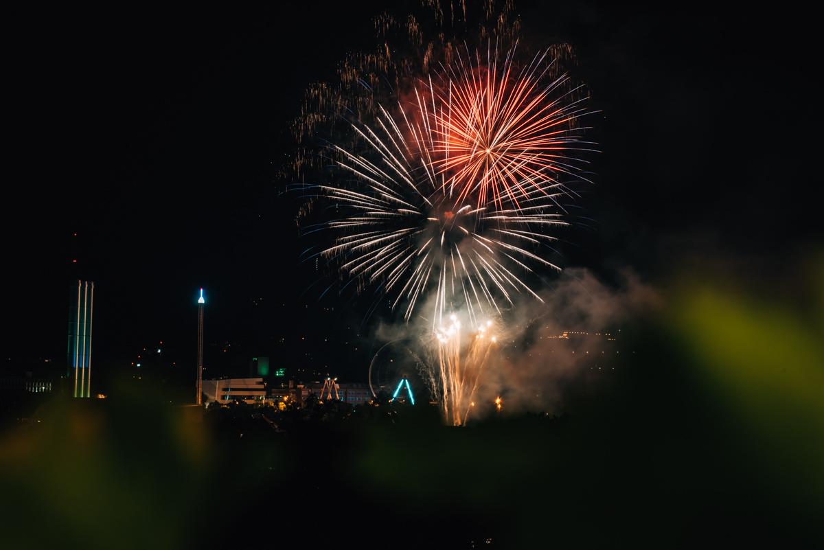 Würzburg Feuerwerk