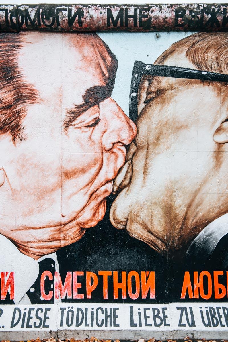 Berliner Mauer Kuss