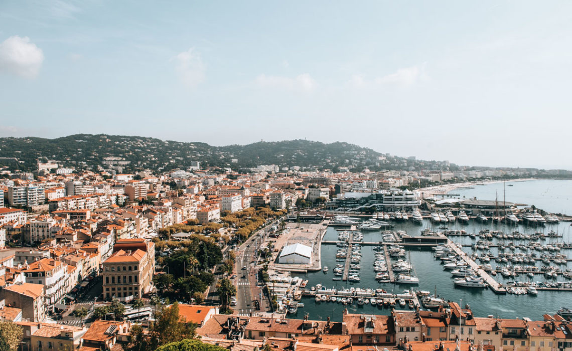 Cannes Aussicht