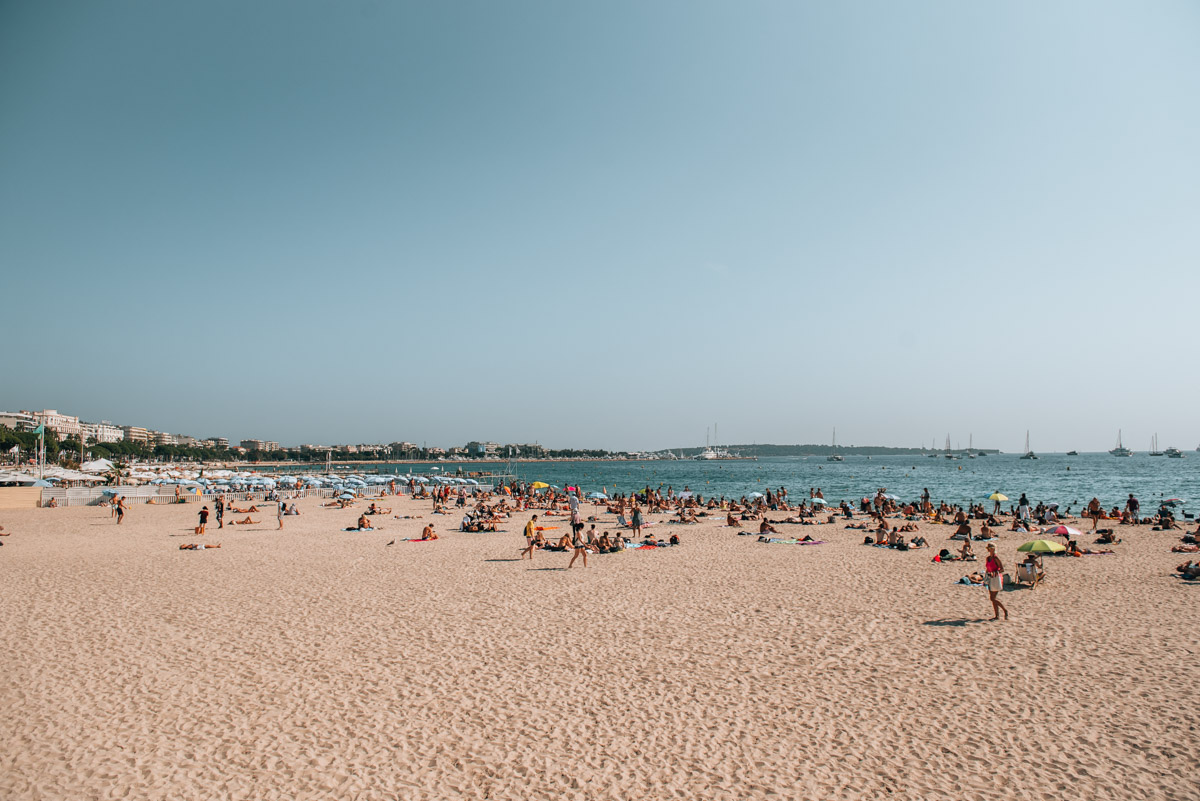 Cannes Beach Tips