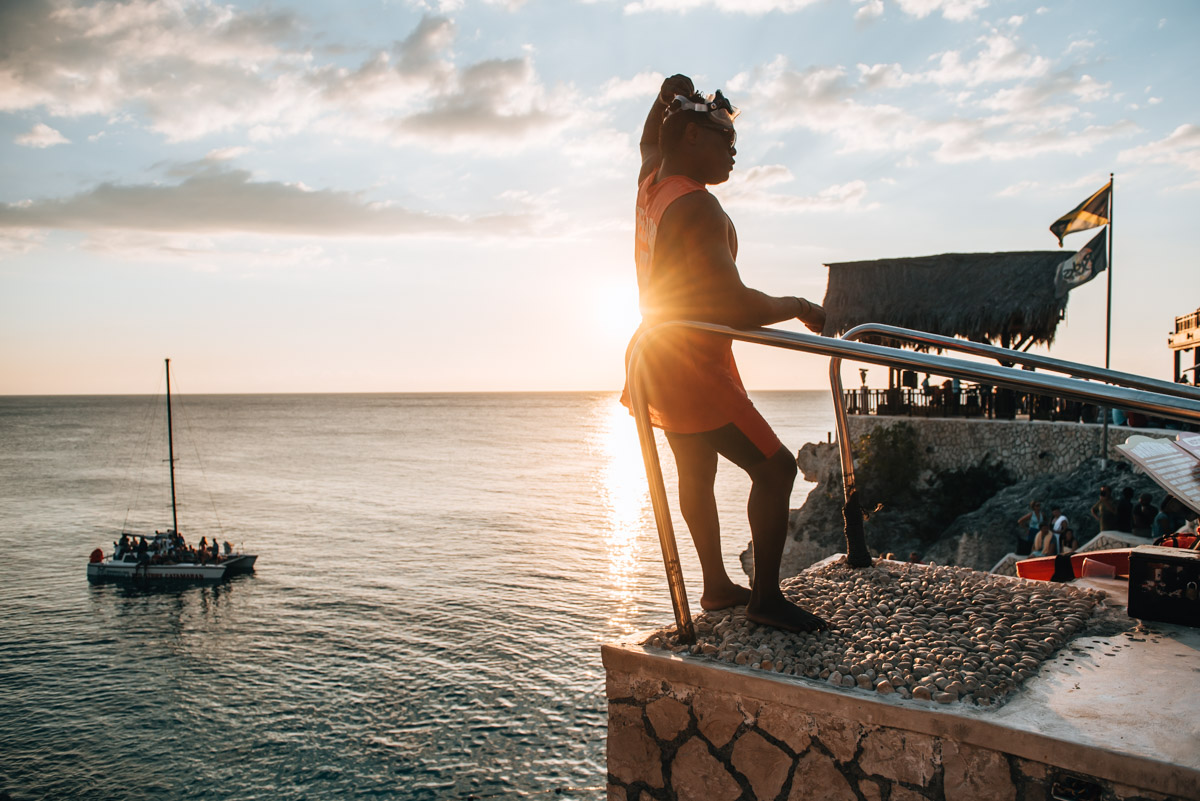 Klippenspringen Jamaika