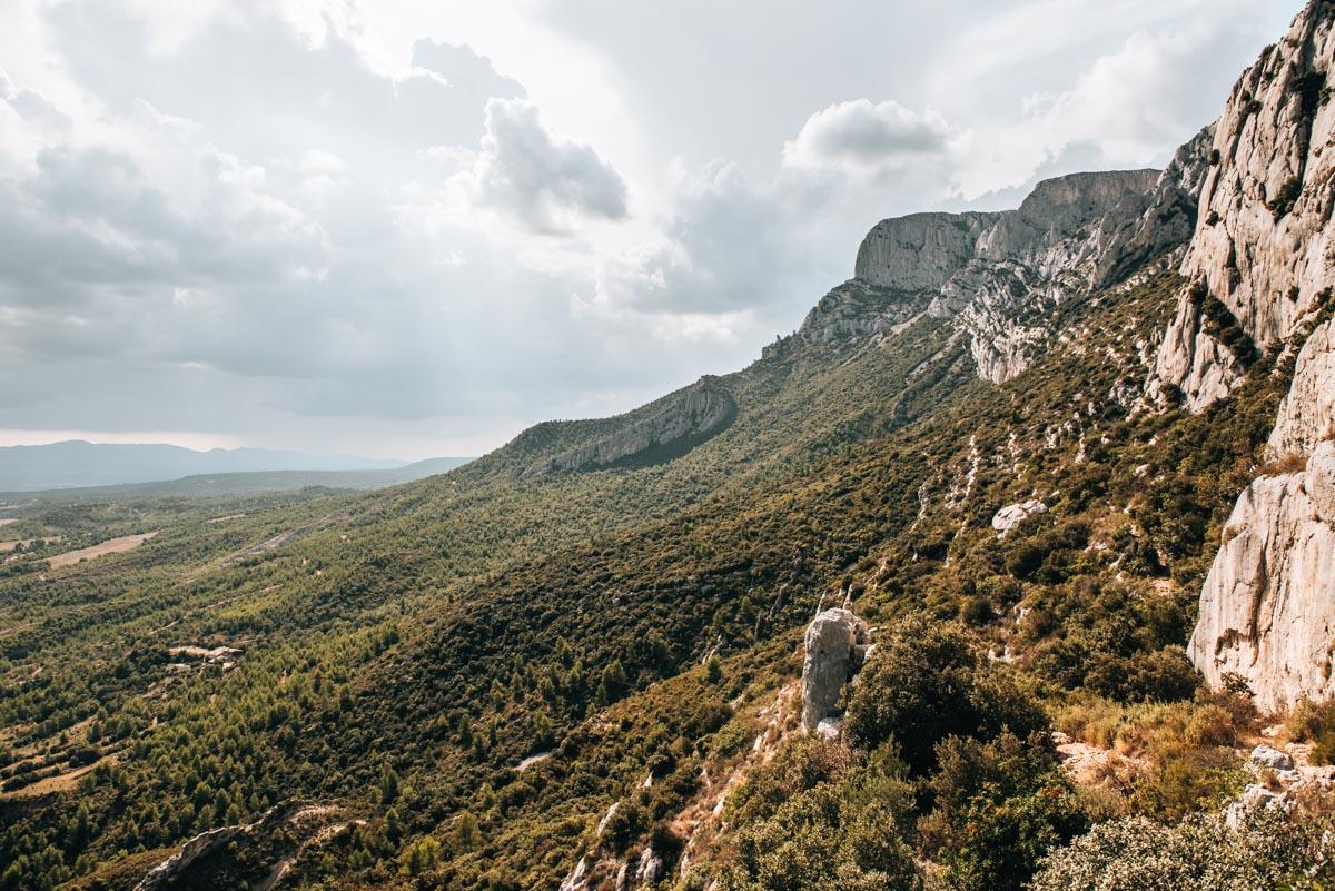 Montagne Sainte Victoire Wandern