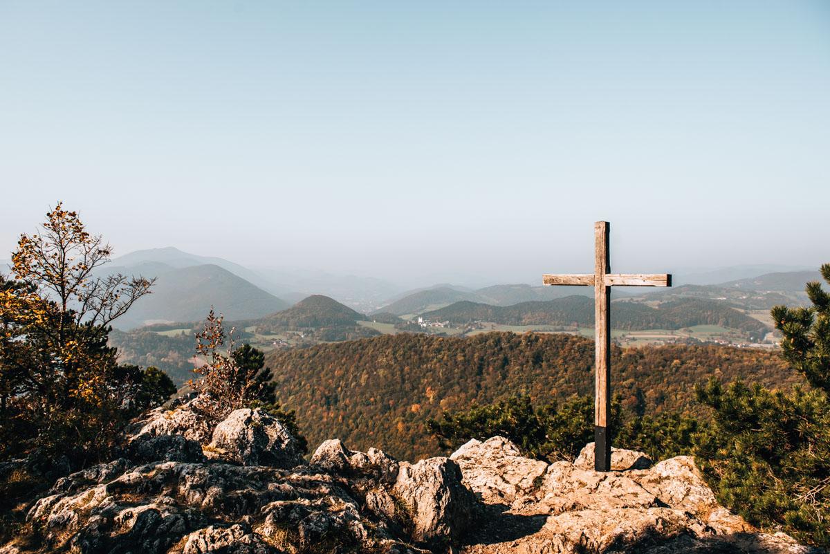 Peilstein Gipfelkreuz
