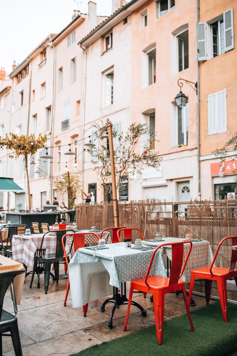 Restaurrant Tipps Aix en Provence