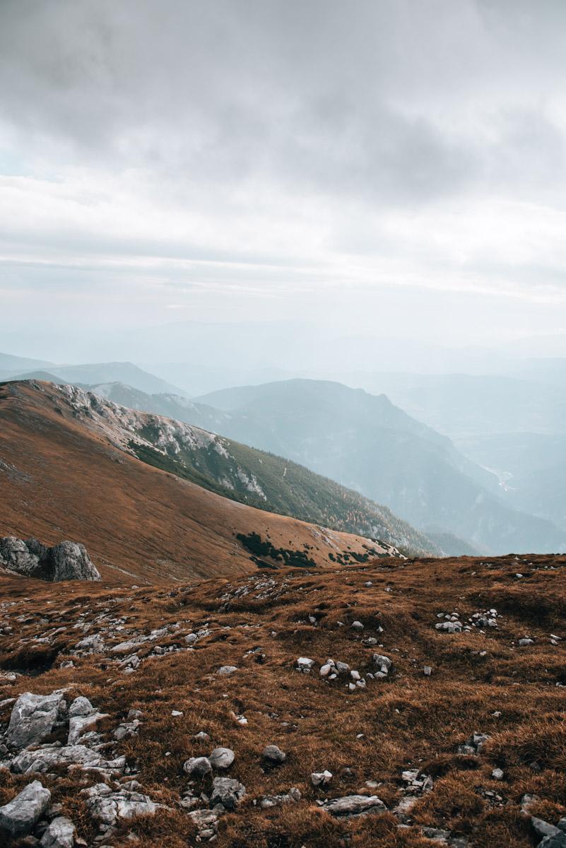 Schneeberg Ausblick