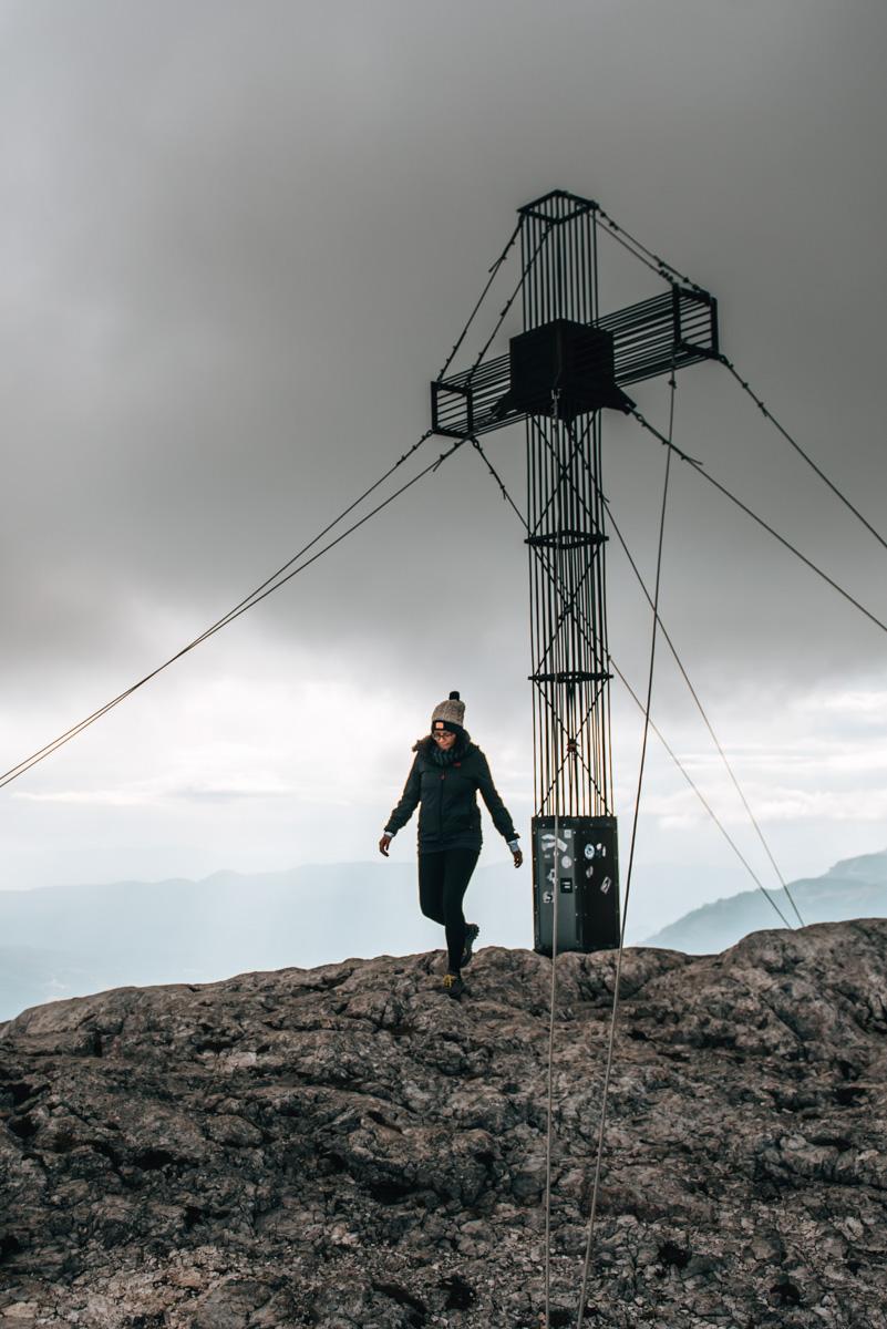 Schneeberg Gipfelkreuz
