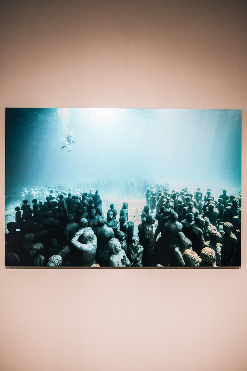 Unterwasser Figuren