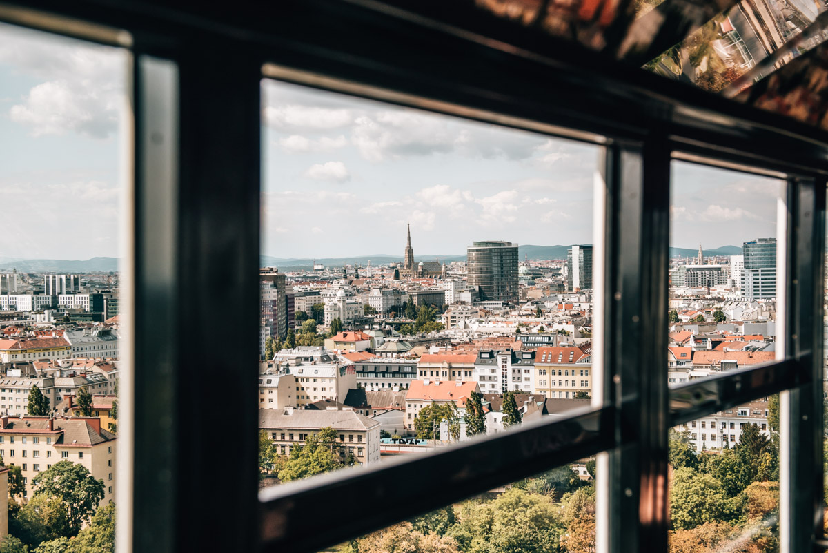 Ausblick Riesenrad Wien