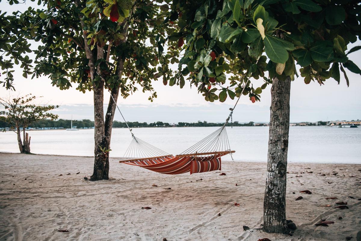 Einsamer Strand Jamaika