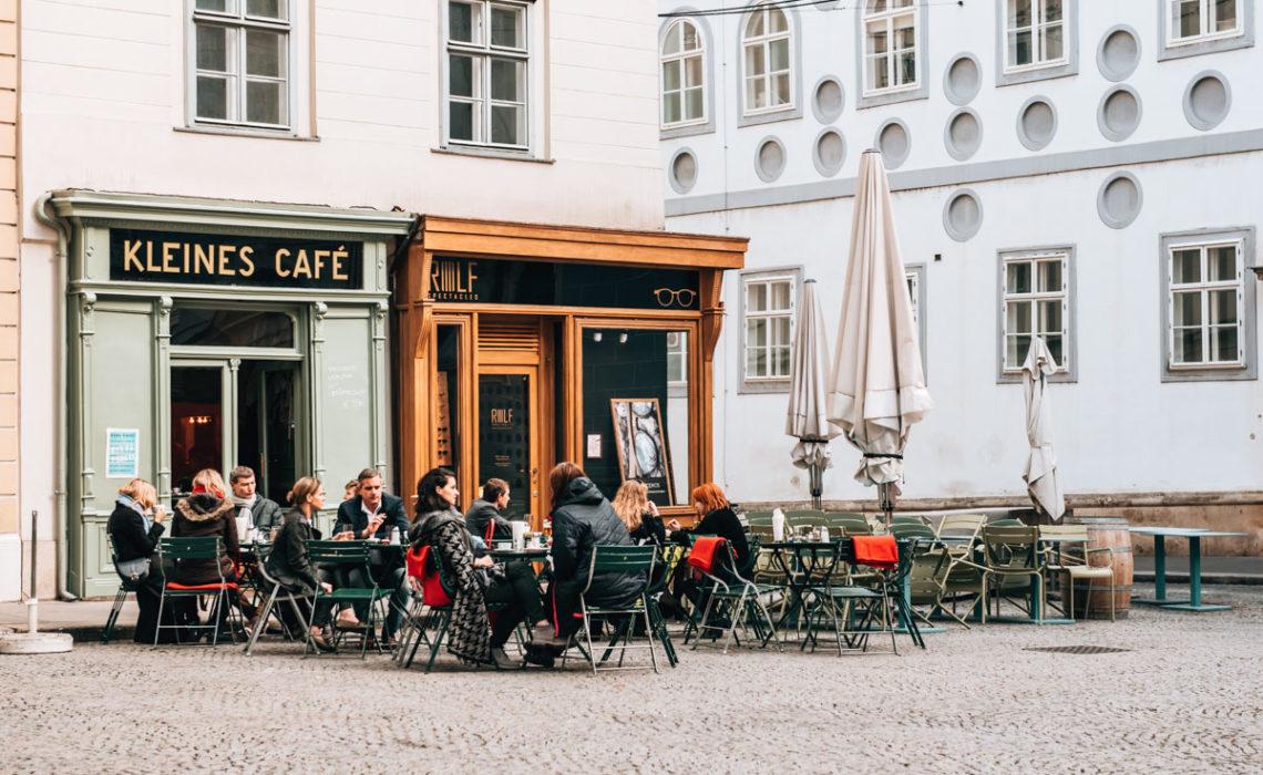 Kleines Cafe Franziskanerplatz