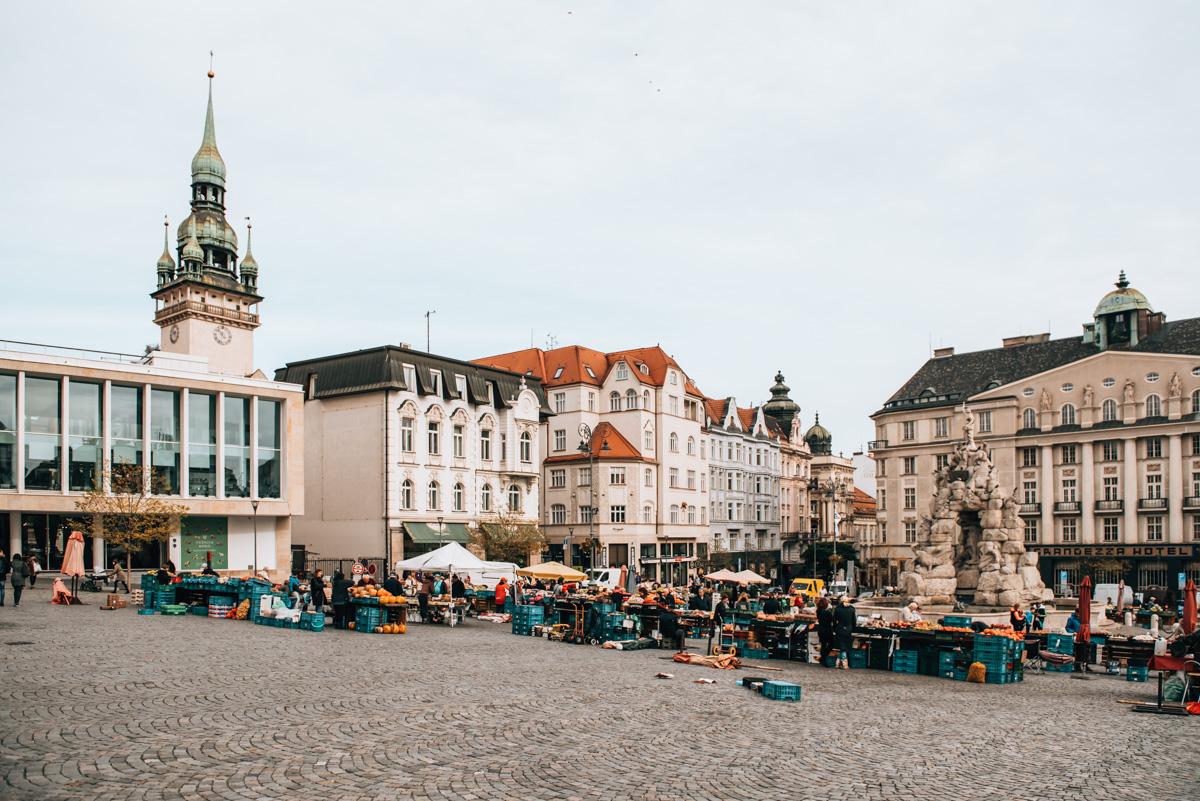 Market Brno