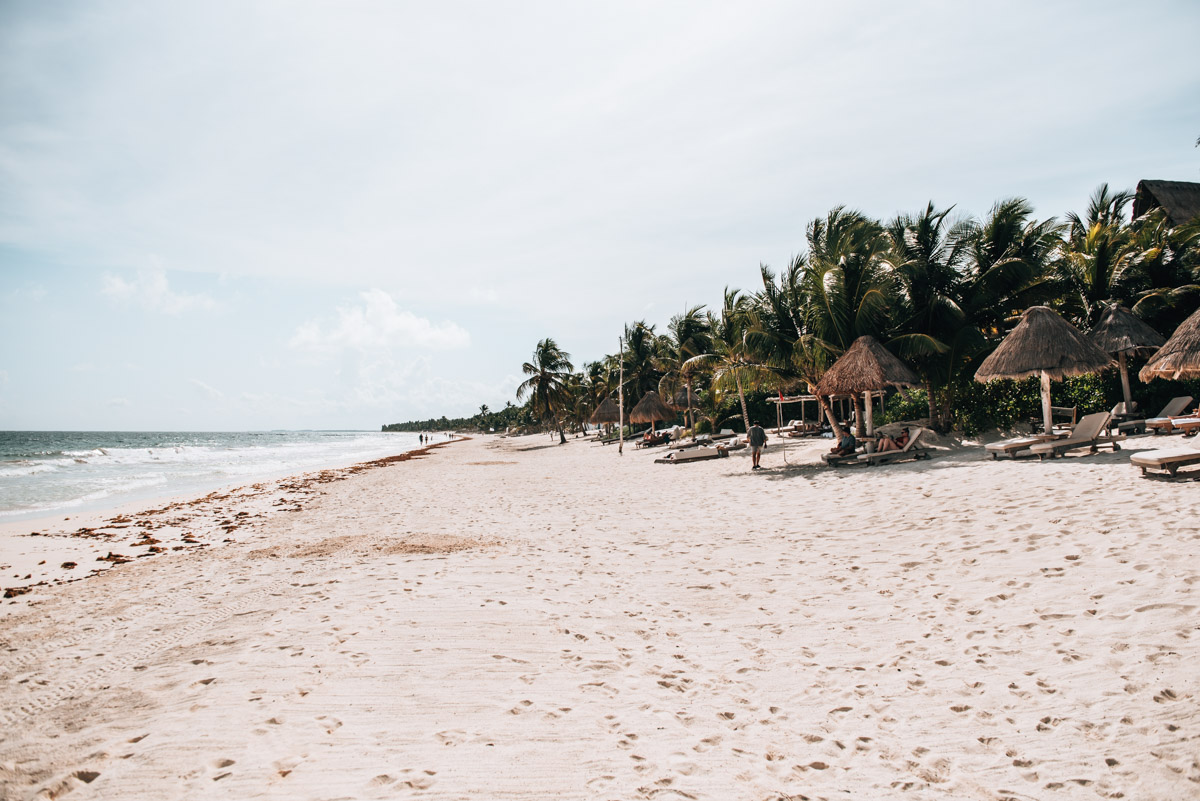 Beaches Tulum Tips
