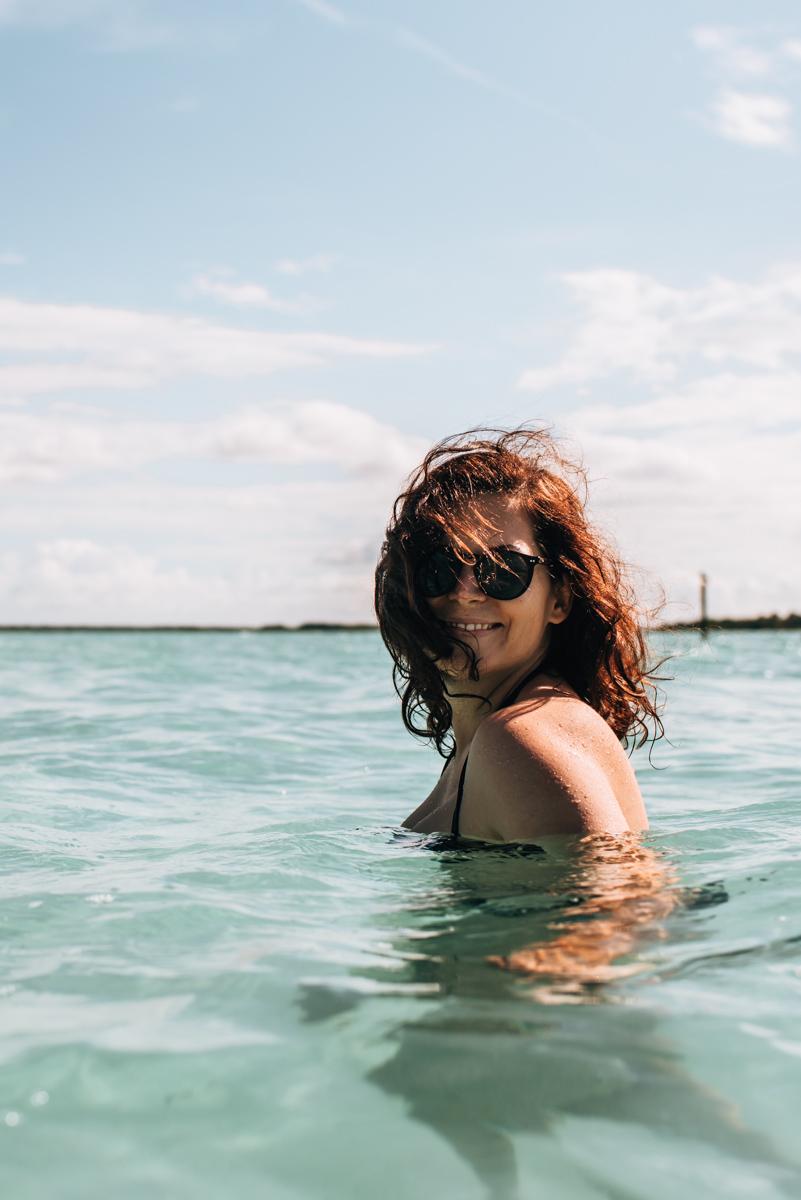 Bacalar Schwimmen