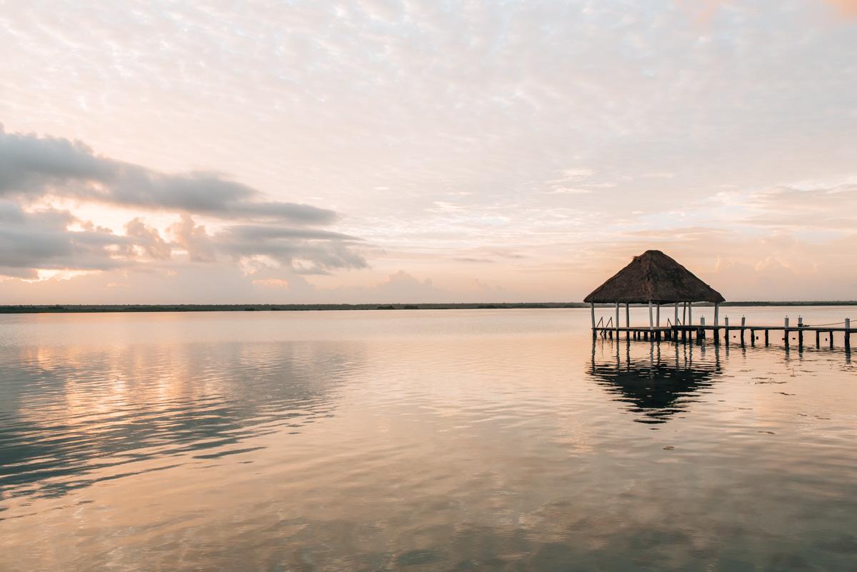 Bacalar Sonnenaufgang