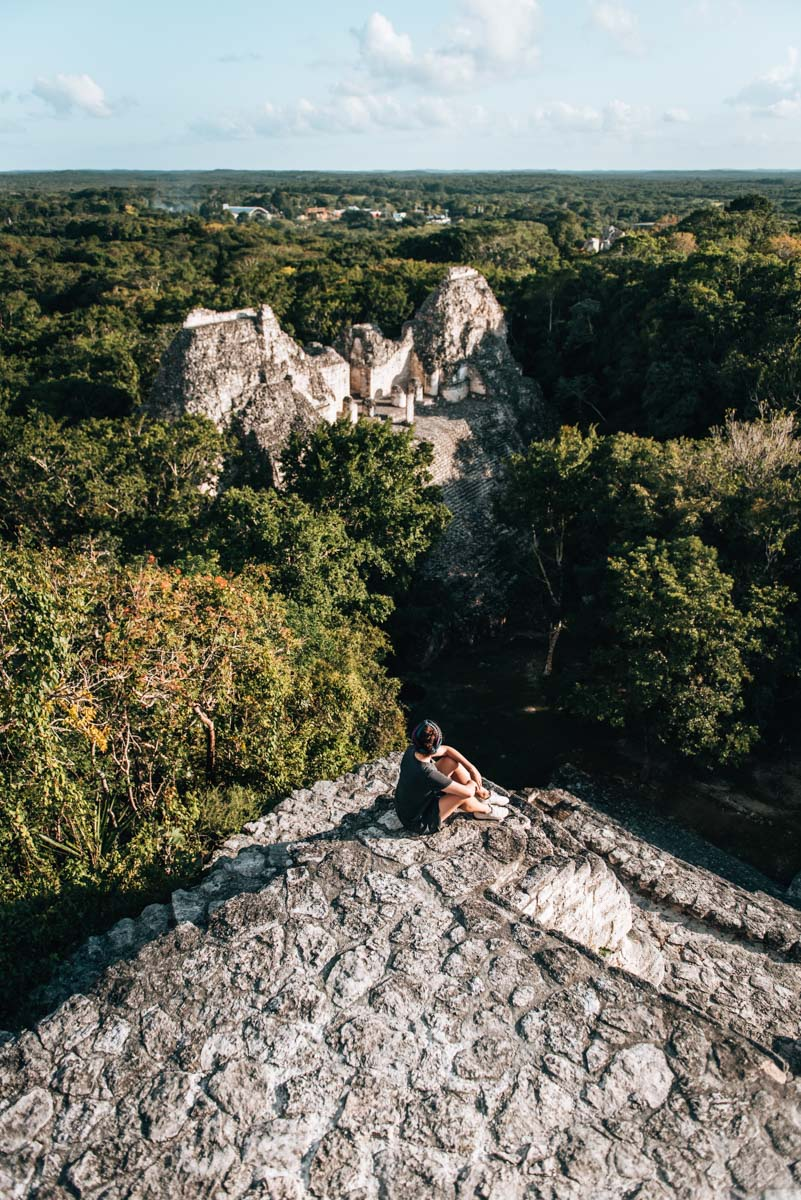 Becan Maya Ruinen