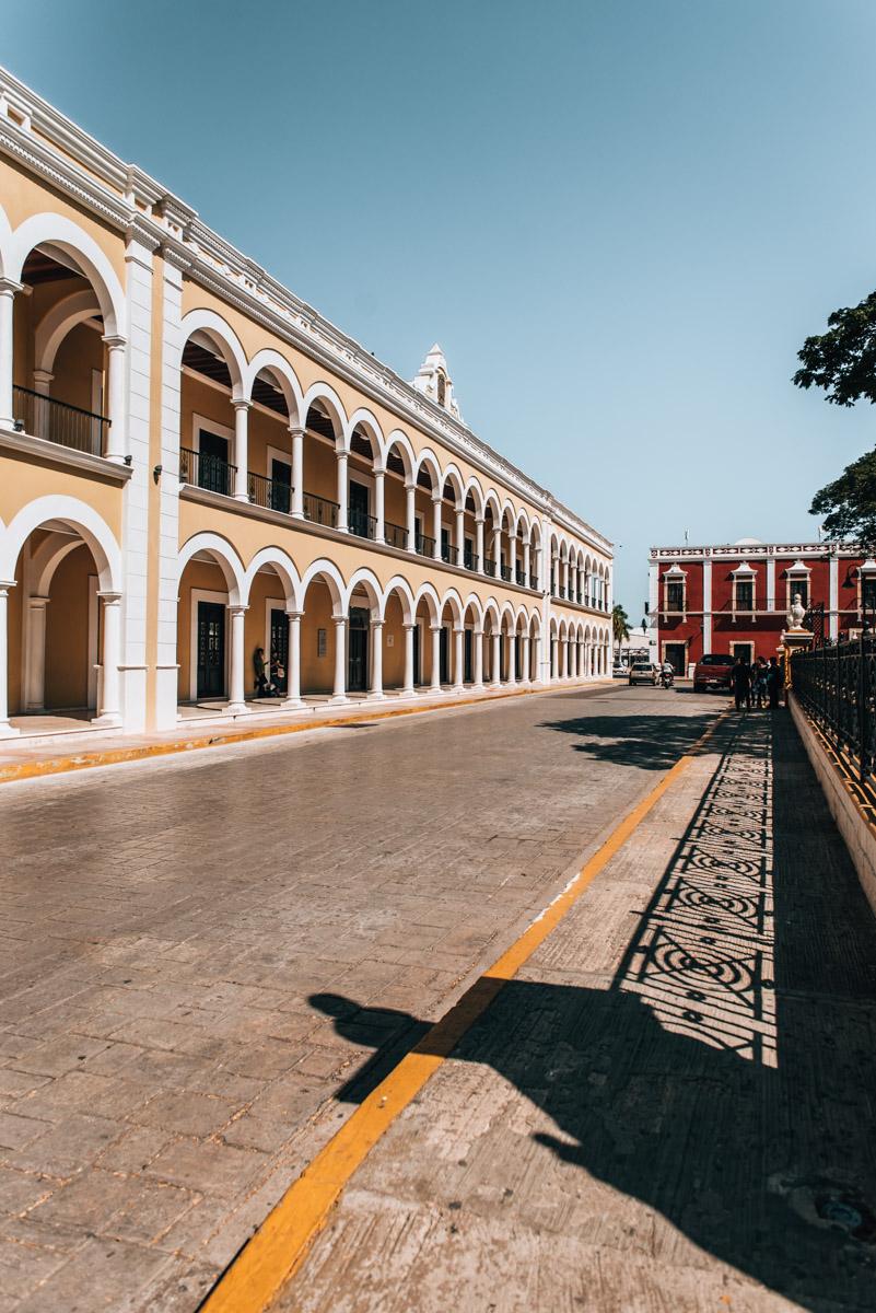 Hauptplatz Campeche