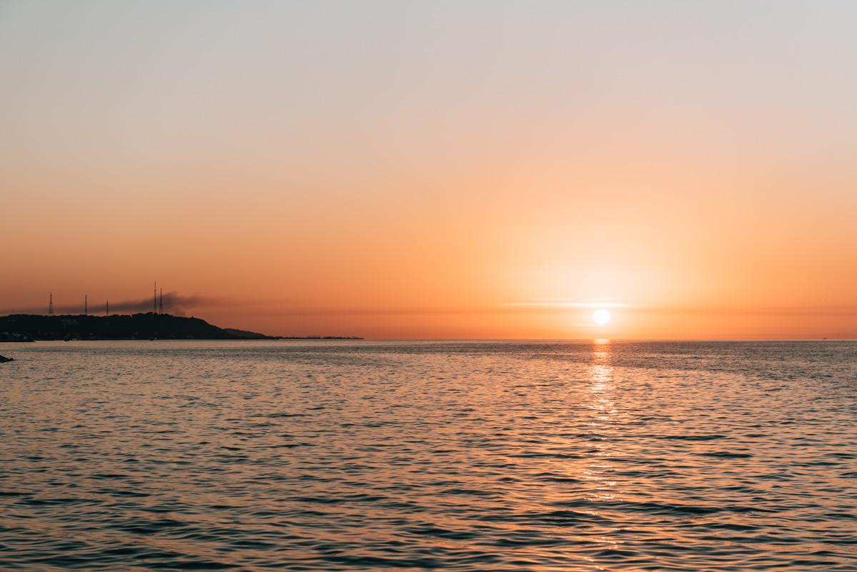 Sonnenuntergang Campeche