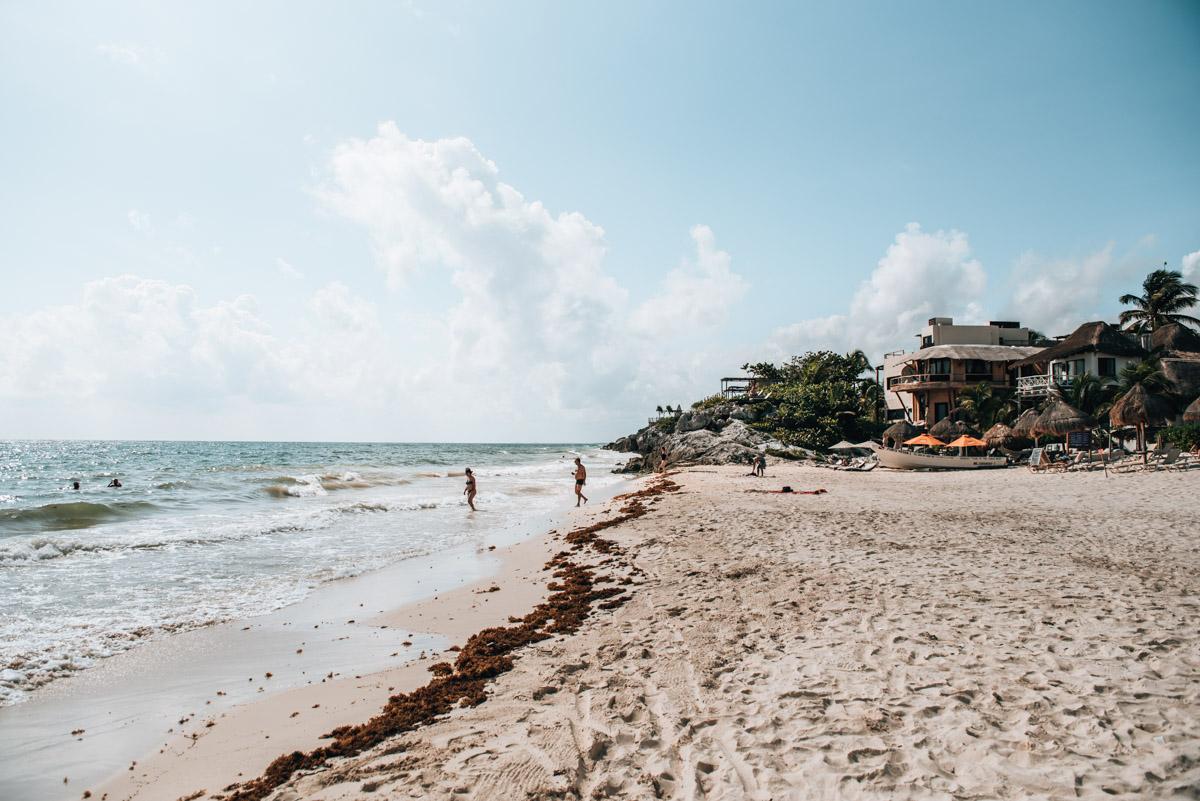 Strand Azulik Tulum