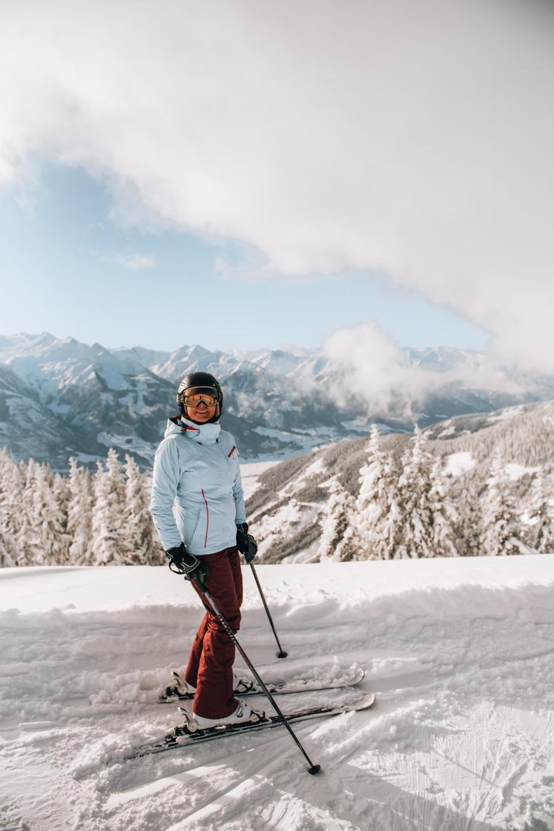 Österreich Skifahren
